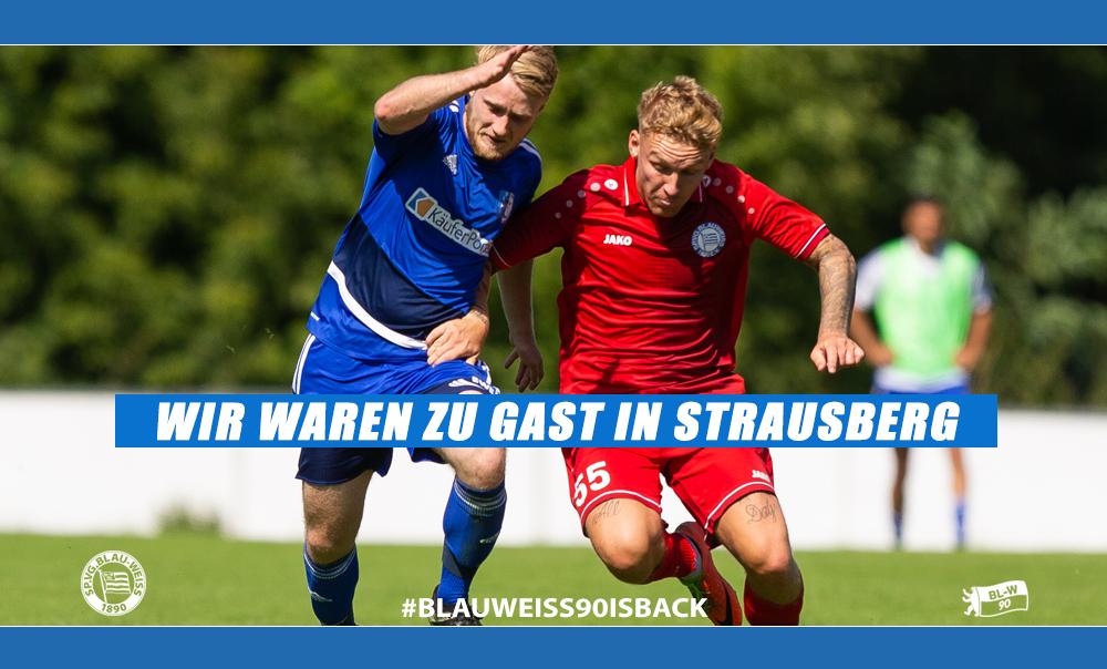Auswärtsdebüt beim FC Strausberg missglückt
