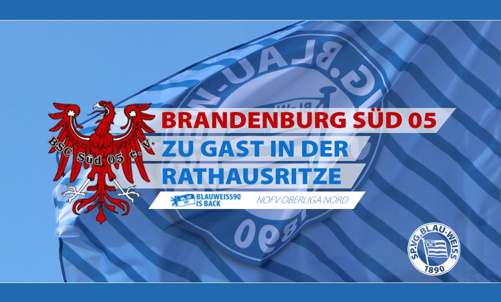 Brandenburg Süd 05 zu Gast in der Rathausritze