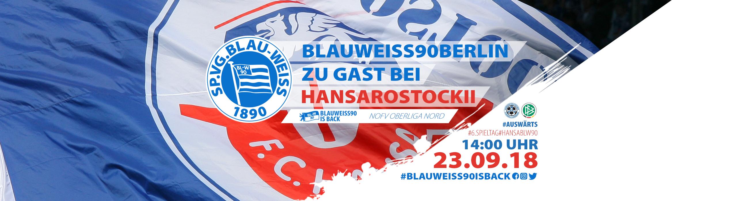 Vorbericht 6. Spieltag: Hansa Rostock II vs. BW90