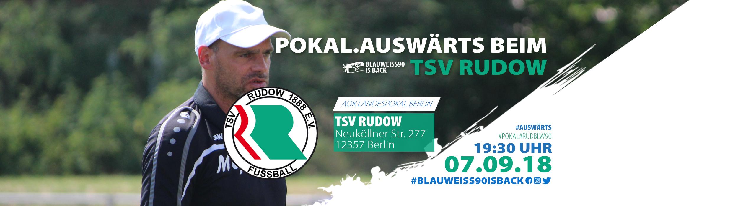Vorbericht zum Pokalspiel gegen den TSV Rudow