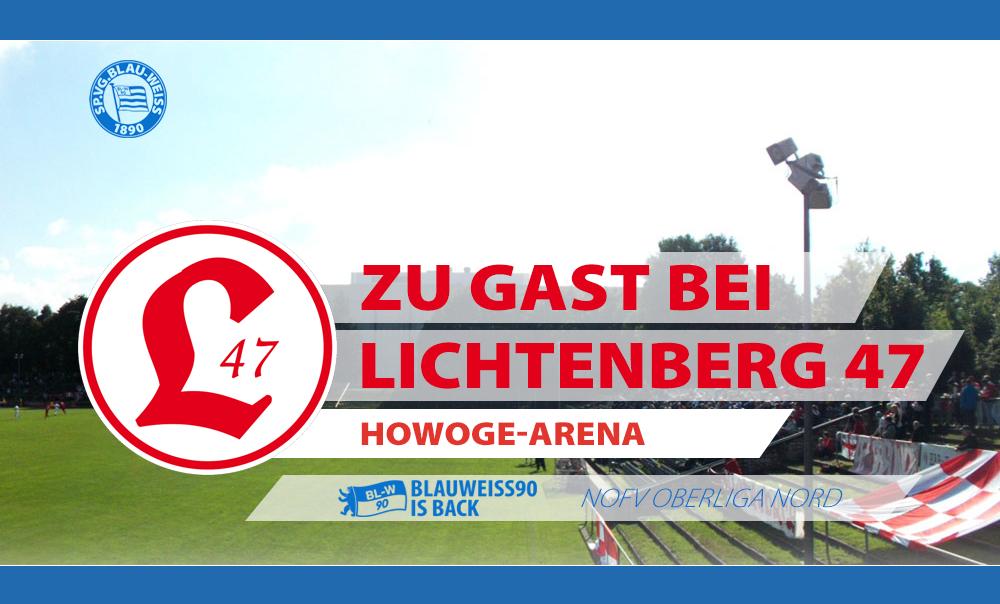Vorbericht zum Spiel bei Lichtenberg 47