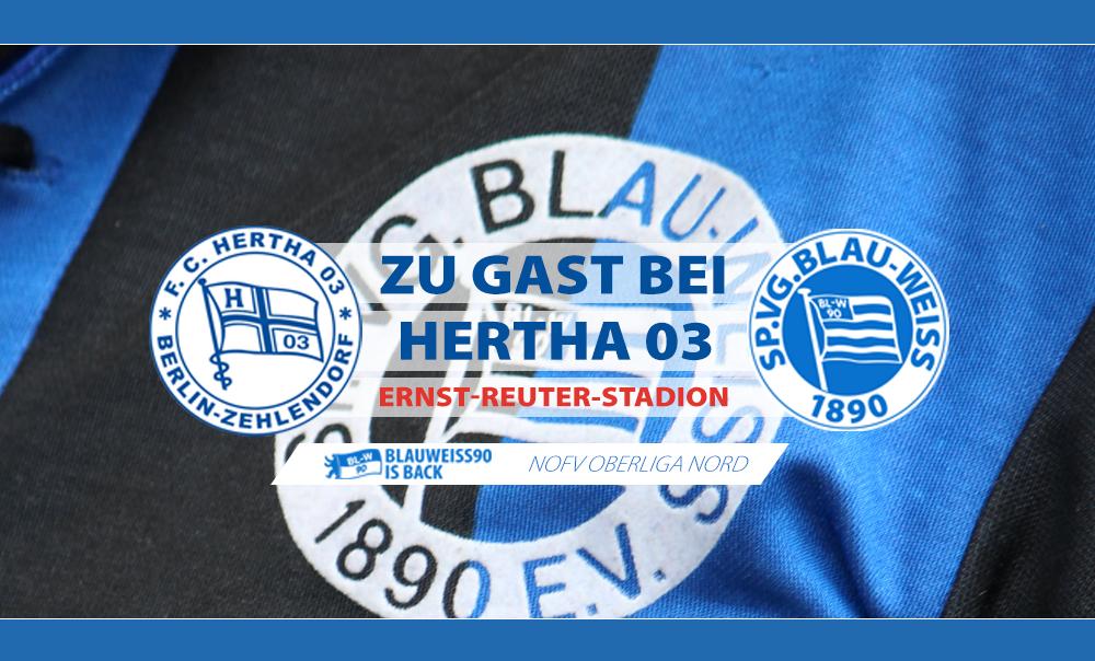 Zu Gast bei Hertha 03