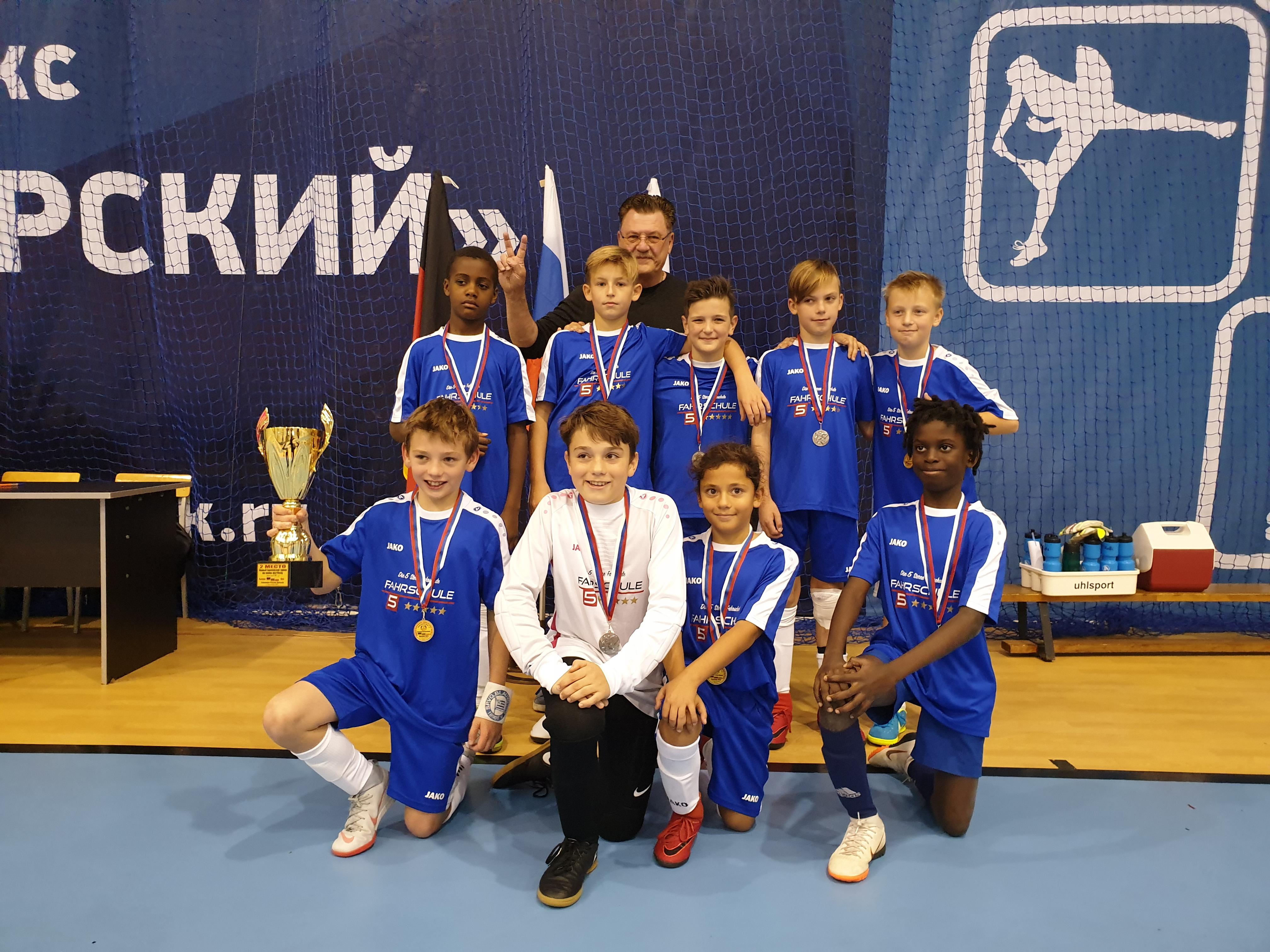 D2 – Unsere Fahrt zum Europäischen Jugendfußball Turnier in Kaliningrad