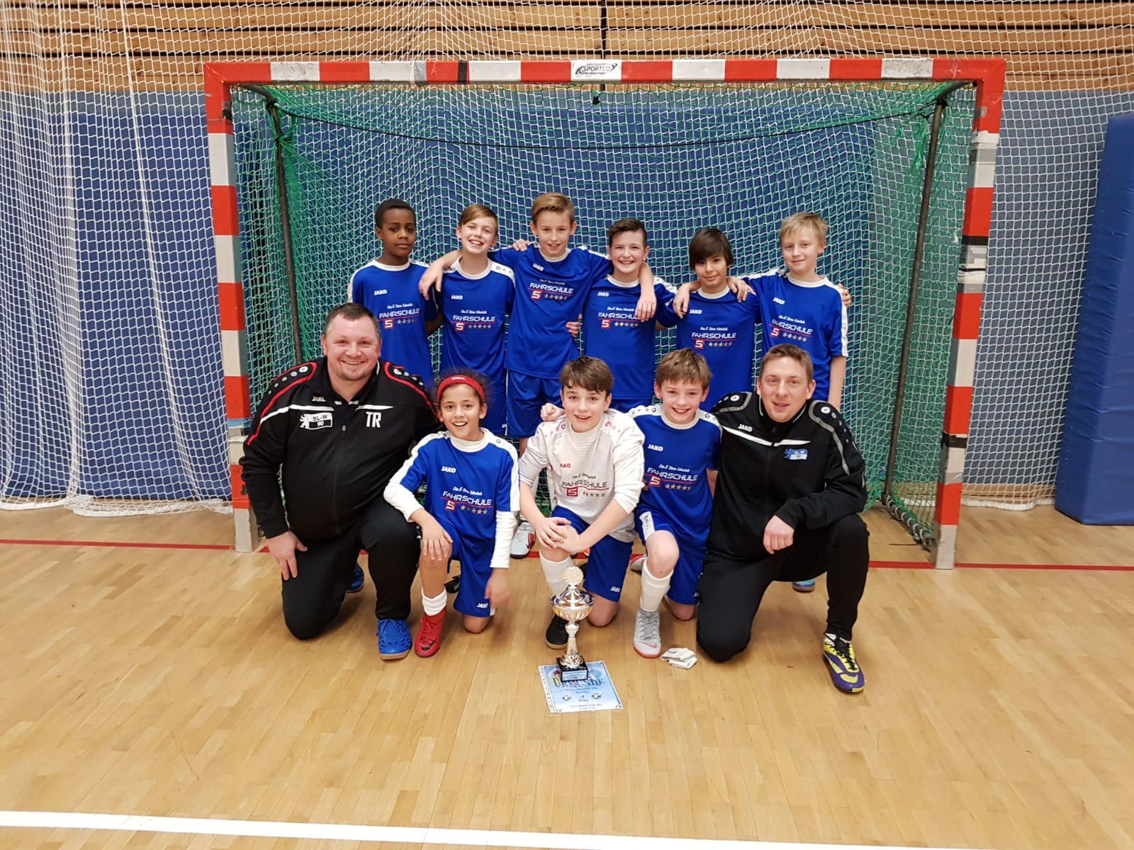 U12 gewinnt U13 Turnier beim Nordberliner SC!