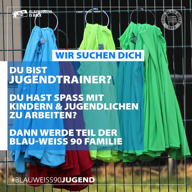 Jugendtrainer/innen gesucht!