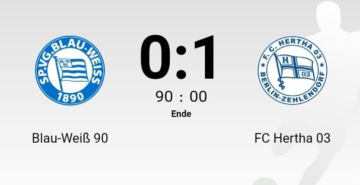 Spielbericht zur Heimniederlage gegen Hertha 03 Zehlendorf!