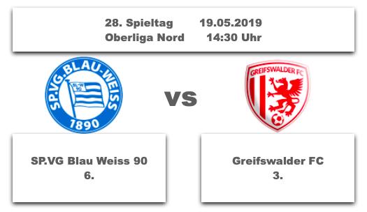 Vorschau auf den 28. Spieltag der Oberliga Nord