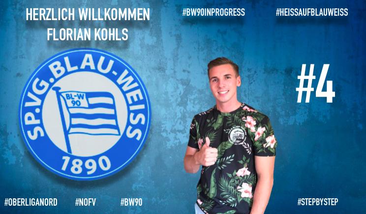 Florian Kohls unsere neue Nr.4