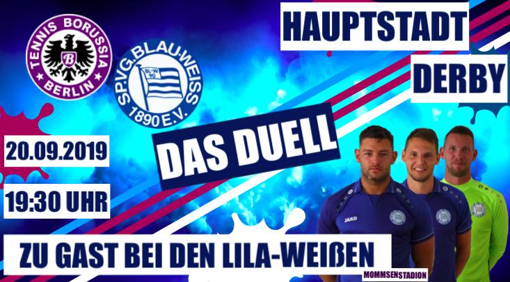Zu Gast bei Tennis Borussia / NOFV Oberliga Nord