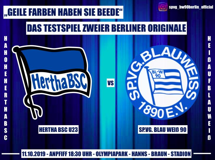 Testspiel zweier Berliner Originale