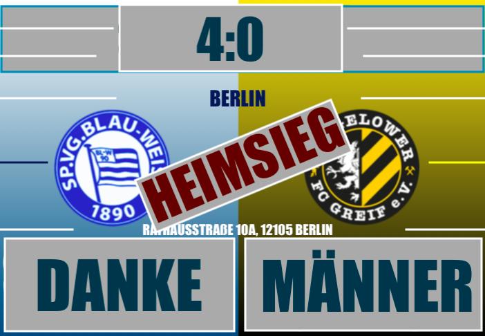 4:0 Heimsieg gegen den FC Greif