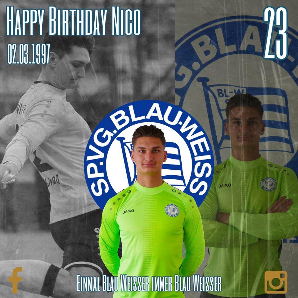 Happy Birthday Nico Wiesner