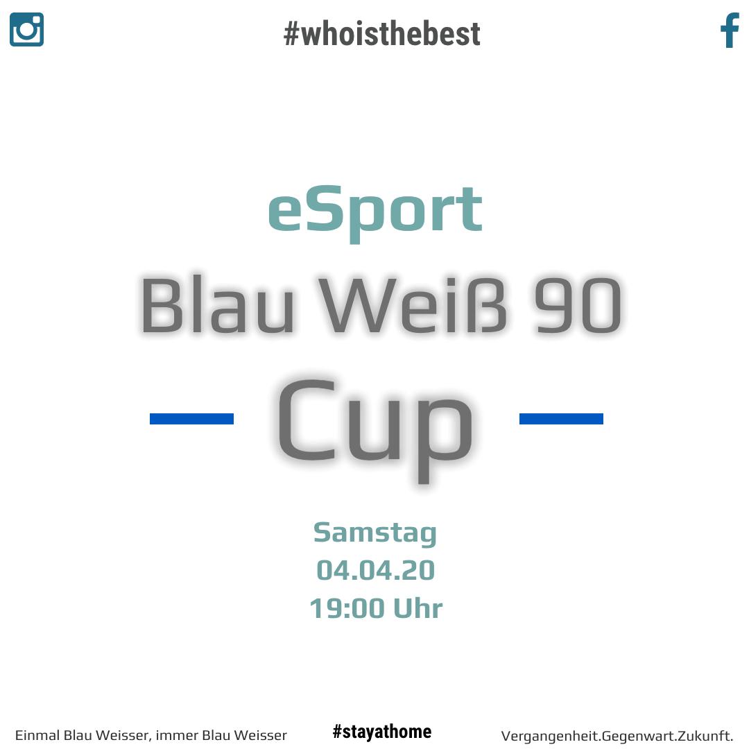 Erster online Blau Weiß 90 Cup