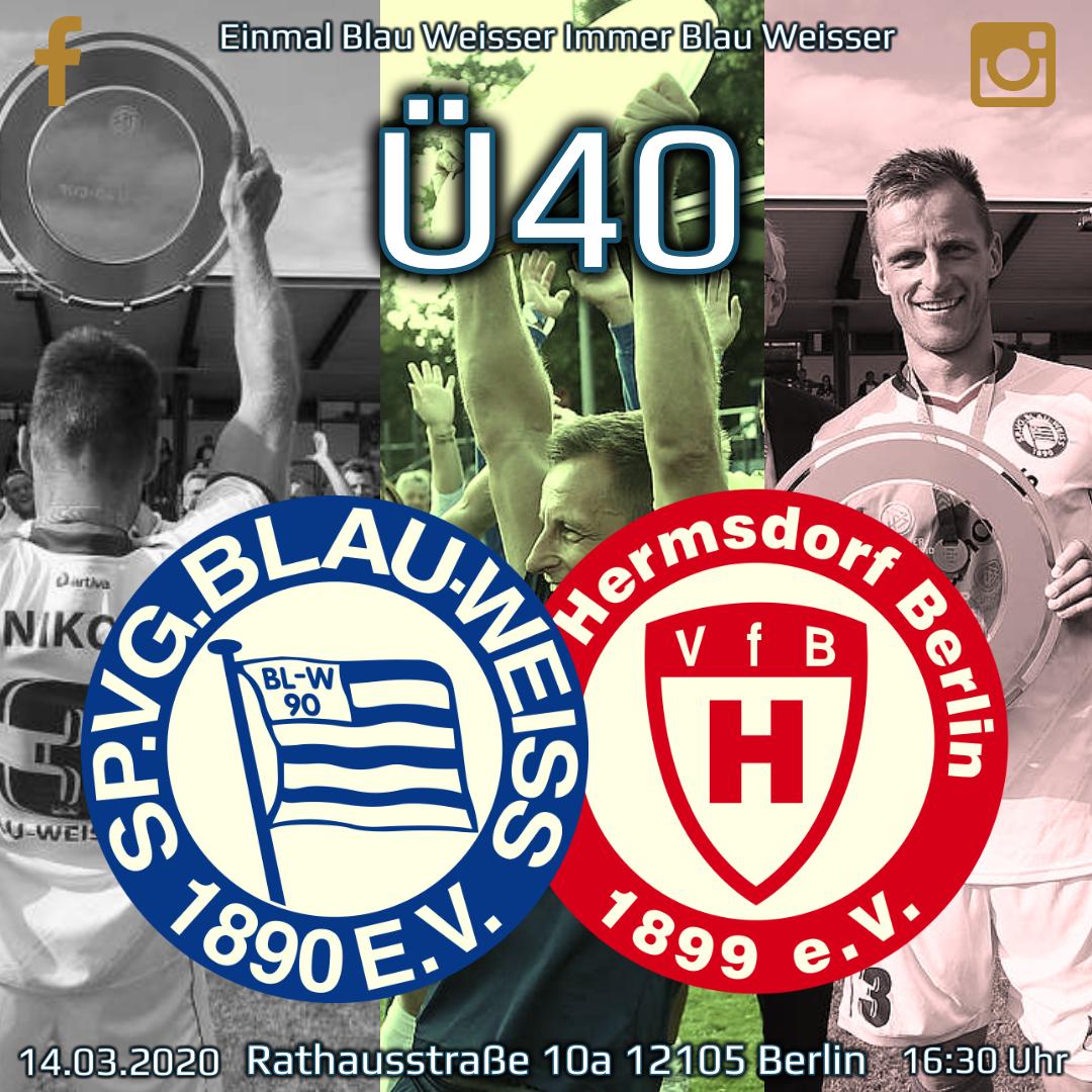 Ü40 trifft auf den VfB Hermsdorf