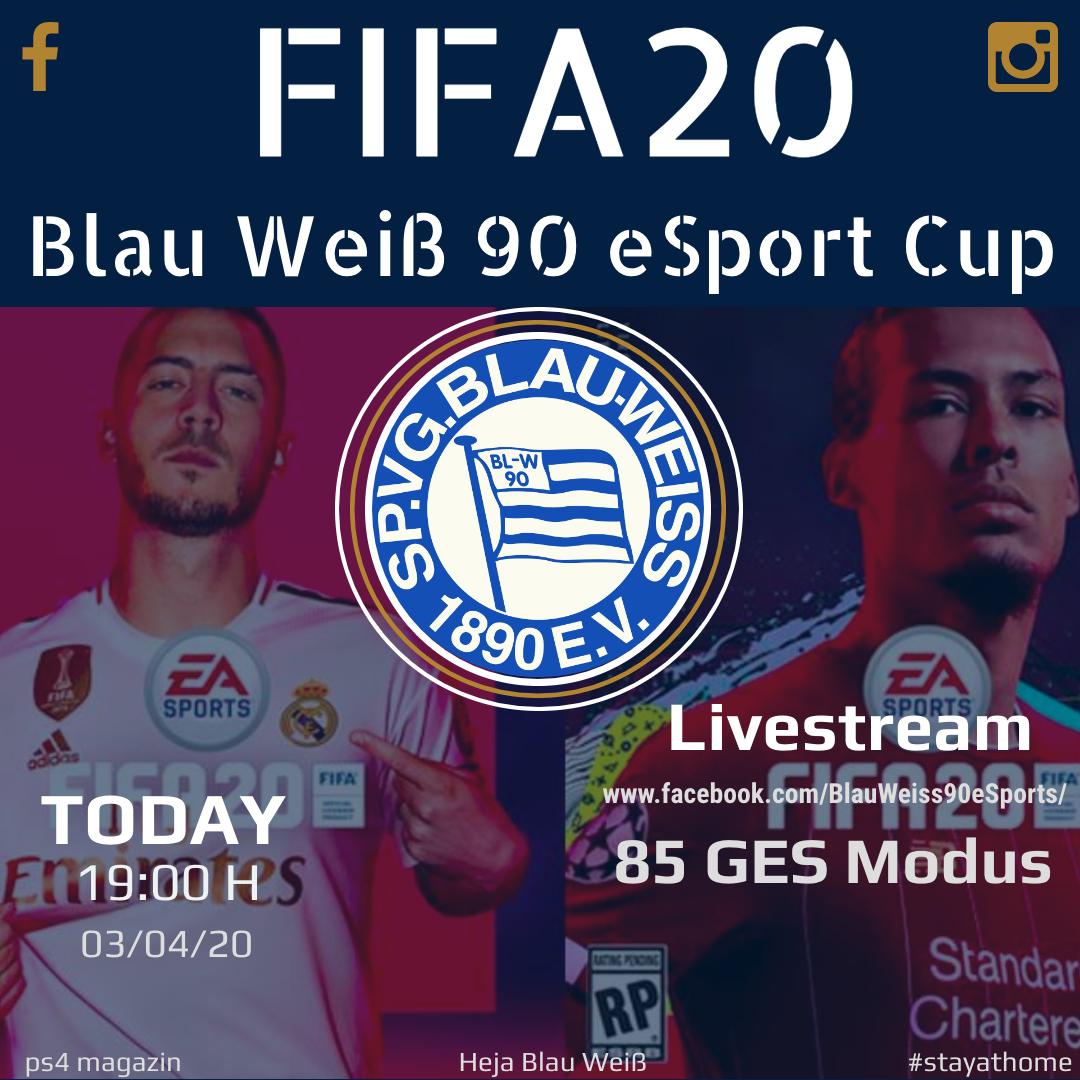 Erster BW90 eSport Cup