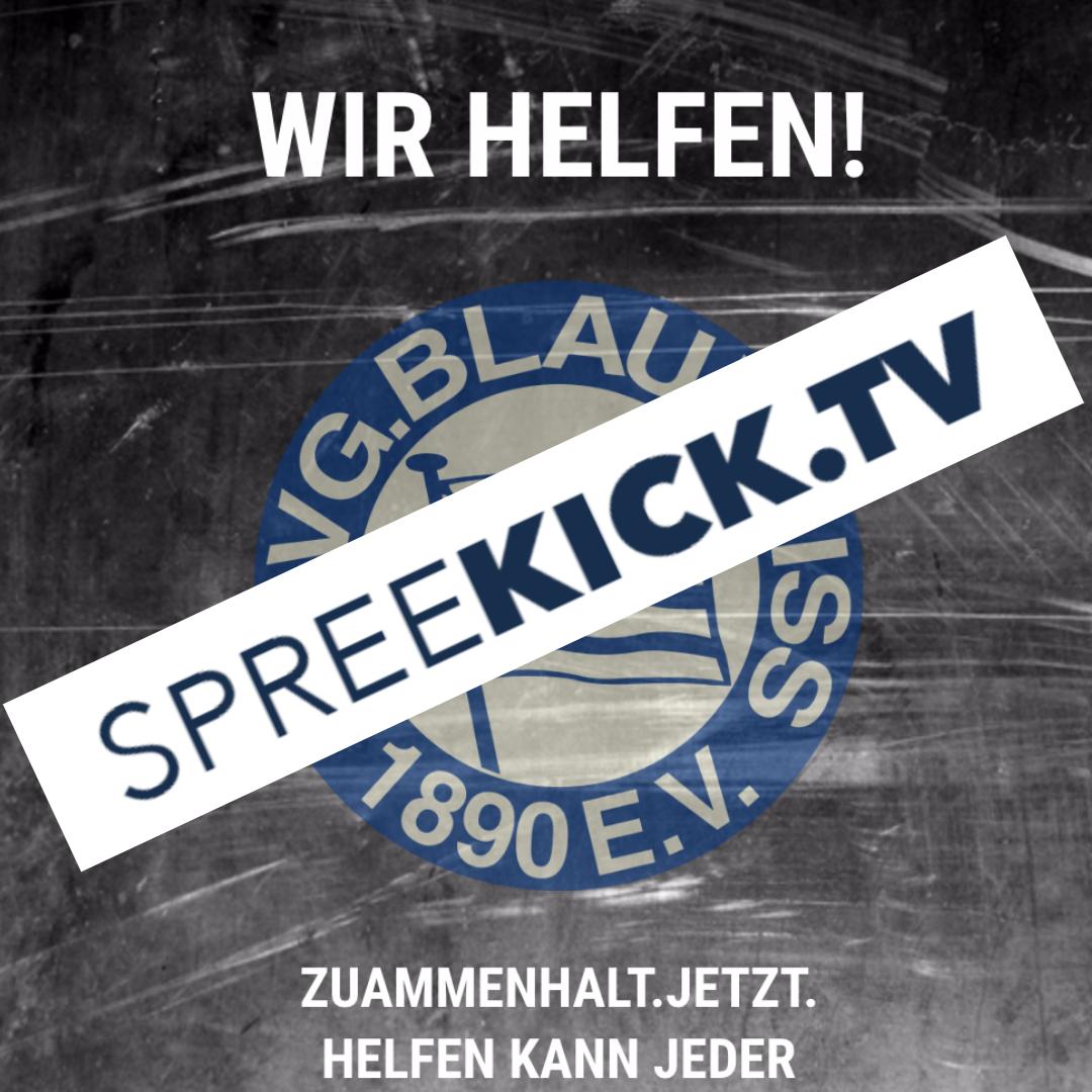 Spreekick TV zu Gast bei Blau Weiß 90