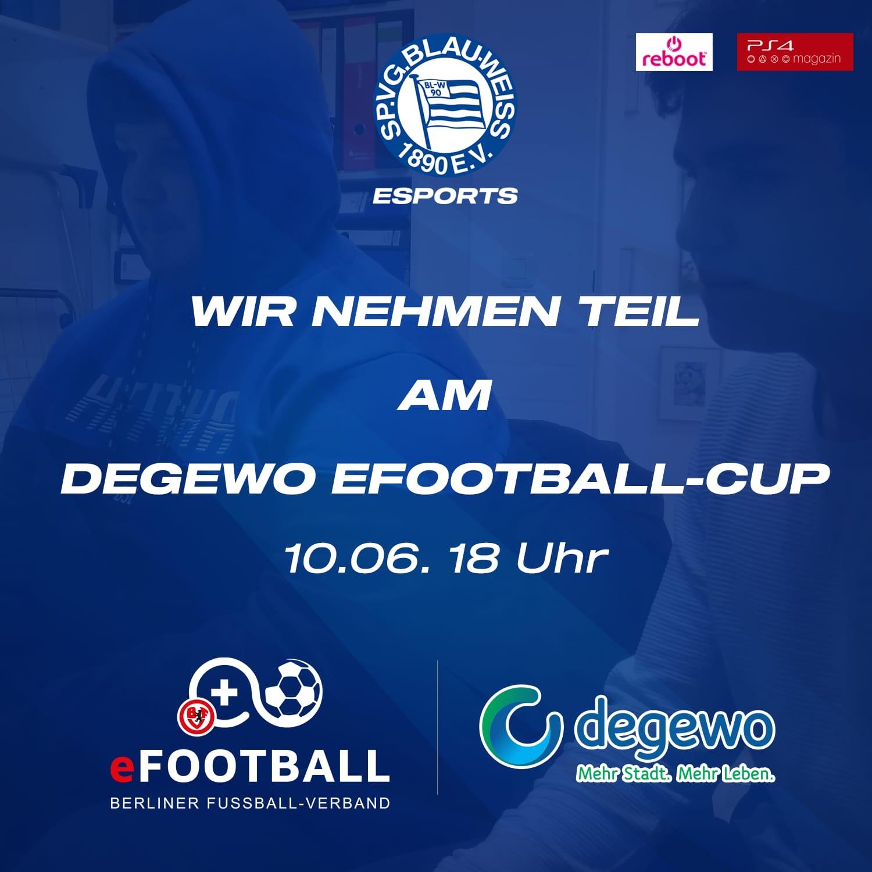 Unsere eSportler nehmen am DFB CUP teil