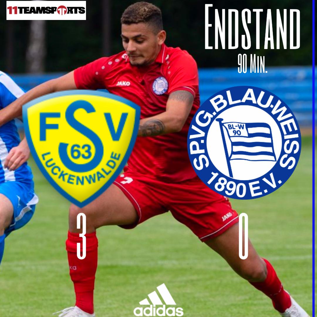 Niederlage gegen Luckenwalde