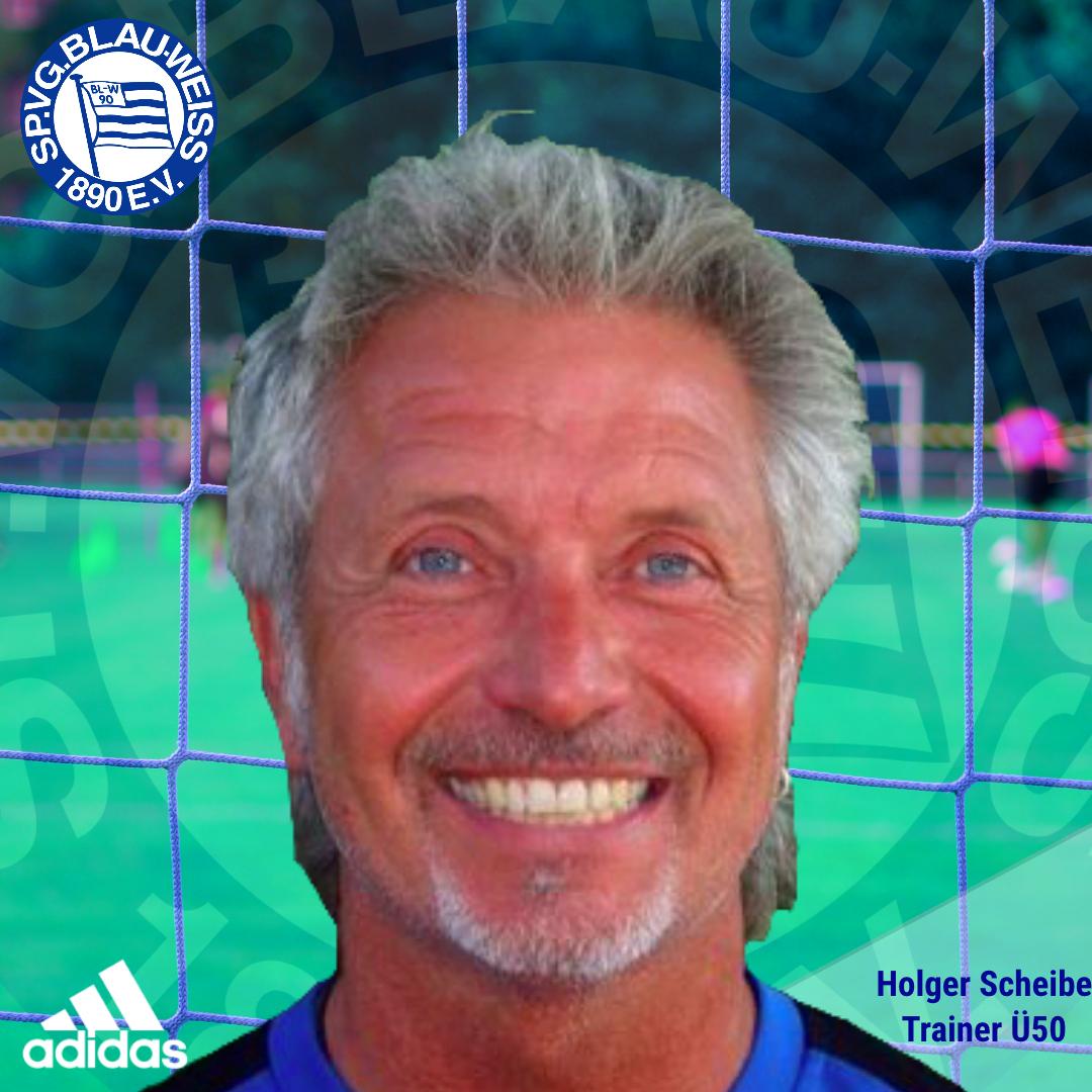 Holger Scheibe neuer Trainer der Ü50