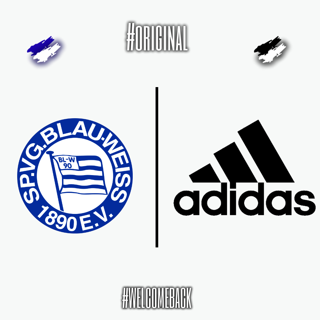Together again #welcome Adidas