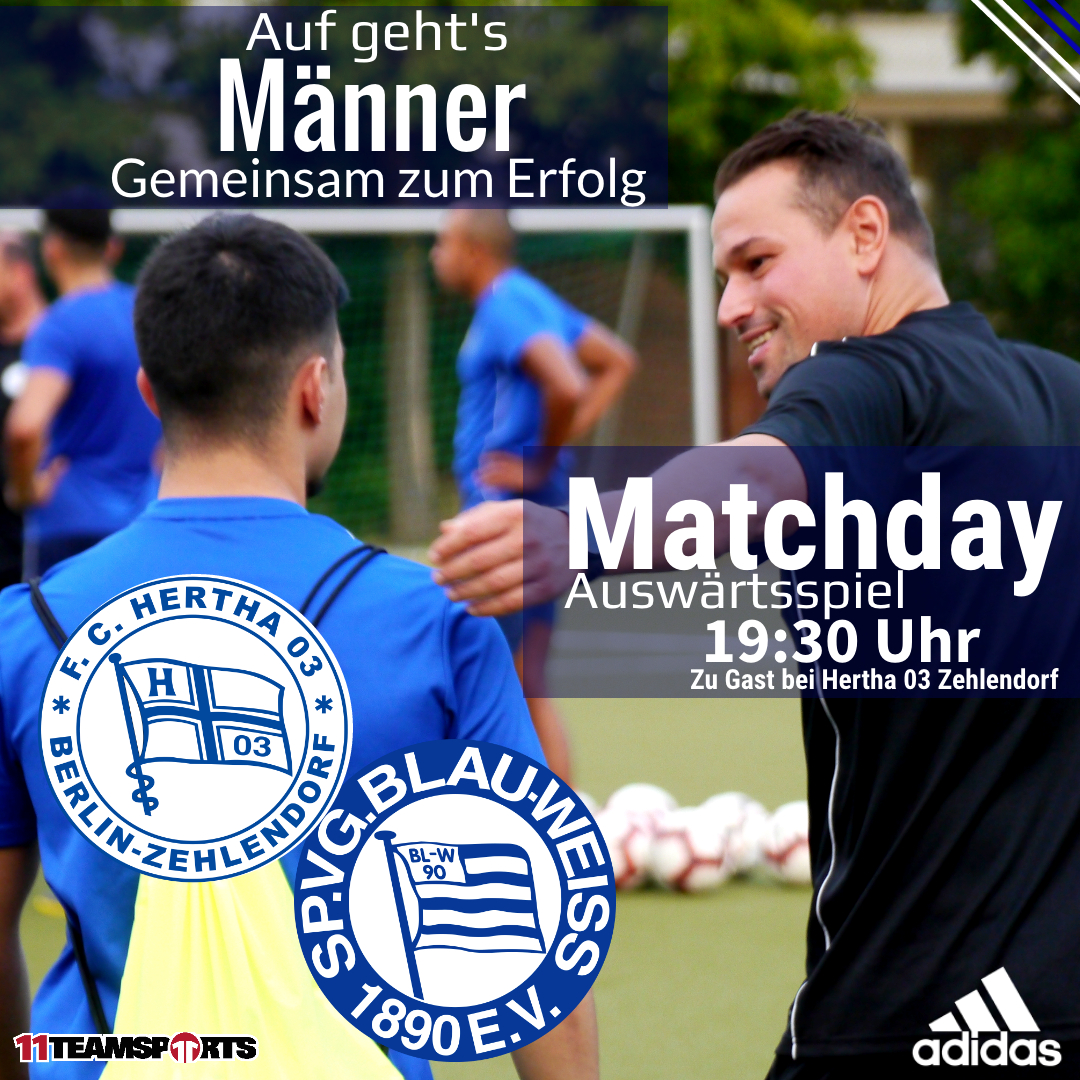 Zu Gast bei Hertha 03 Zehlendorf