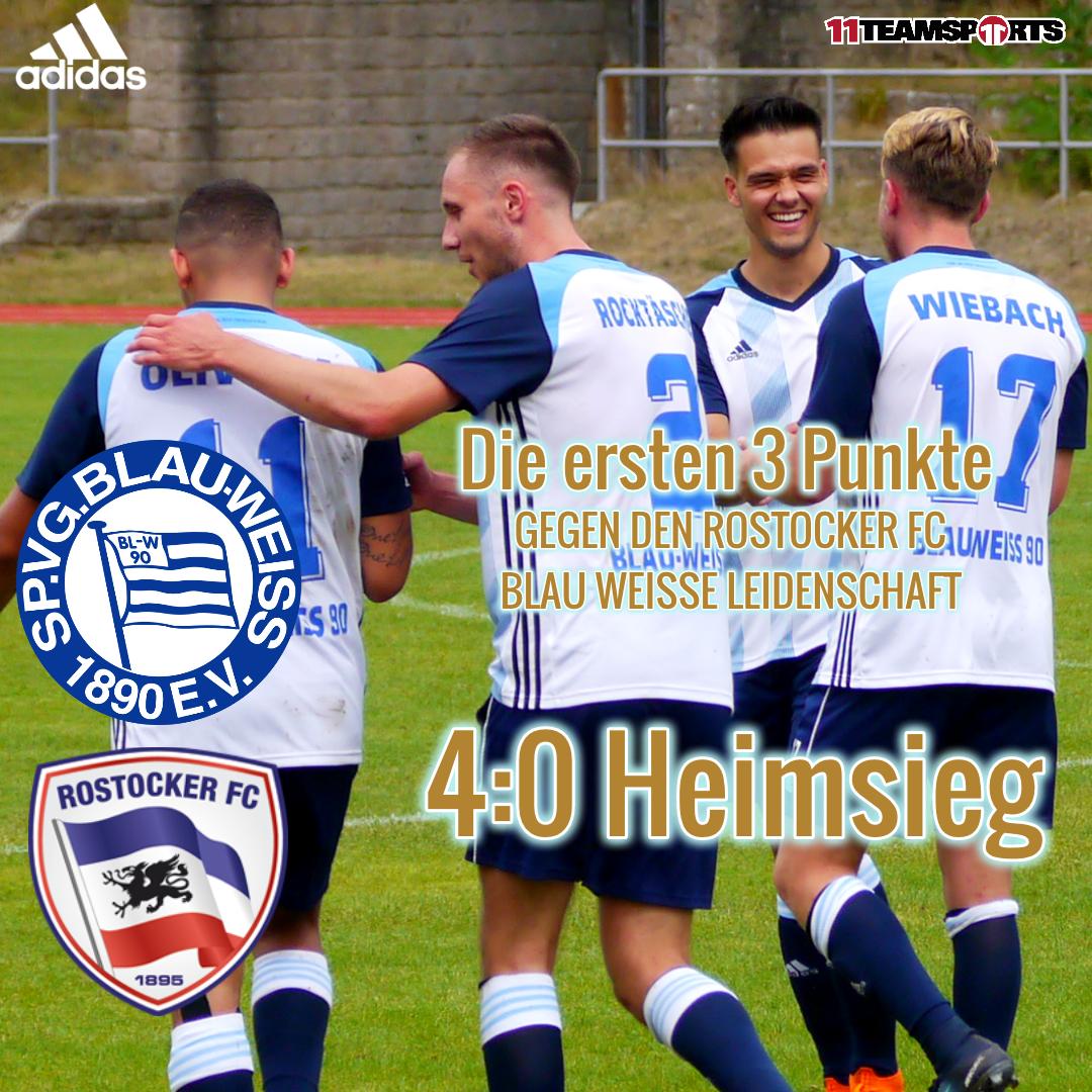 Heimsieg gegen den Rostocker FC