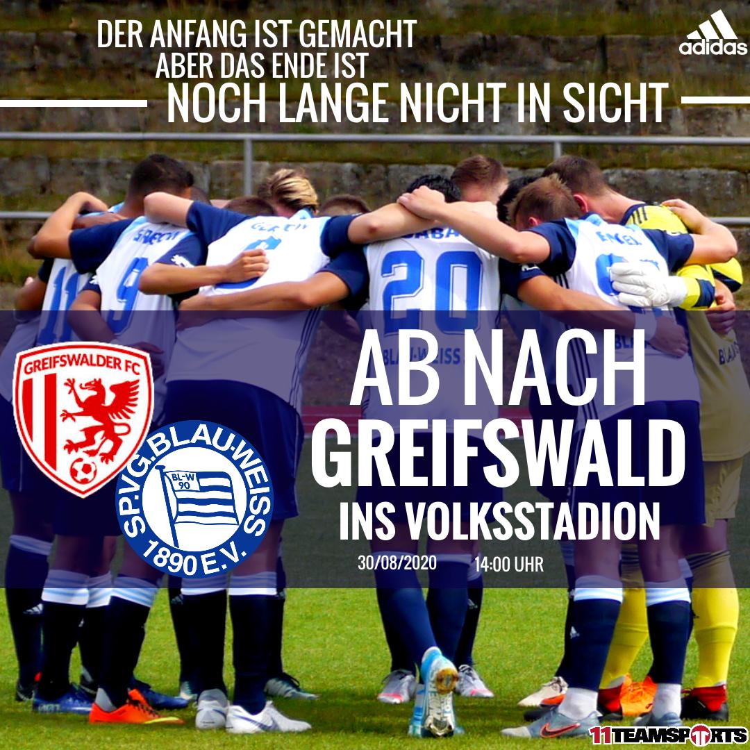 Ab nach Greifswald zum FC