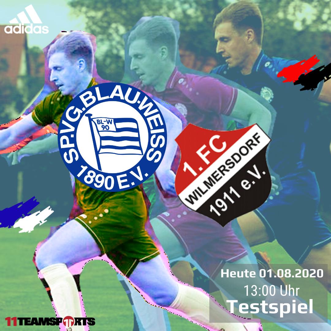 Testspiel gegen den 1. FC Wilmersdorf