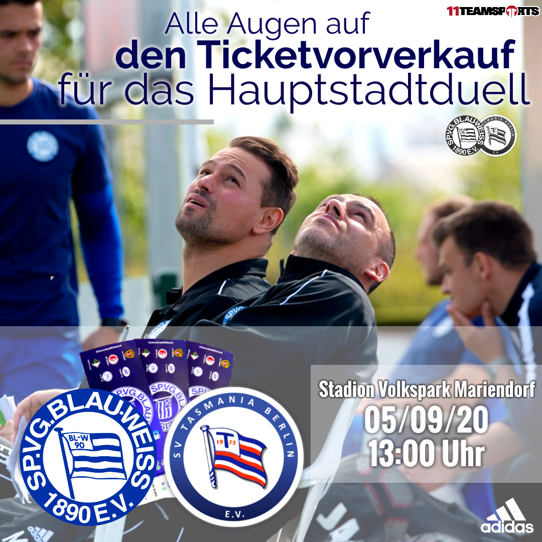 Ticketvorverkauf gegen SV Tasmania Berlin