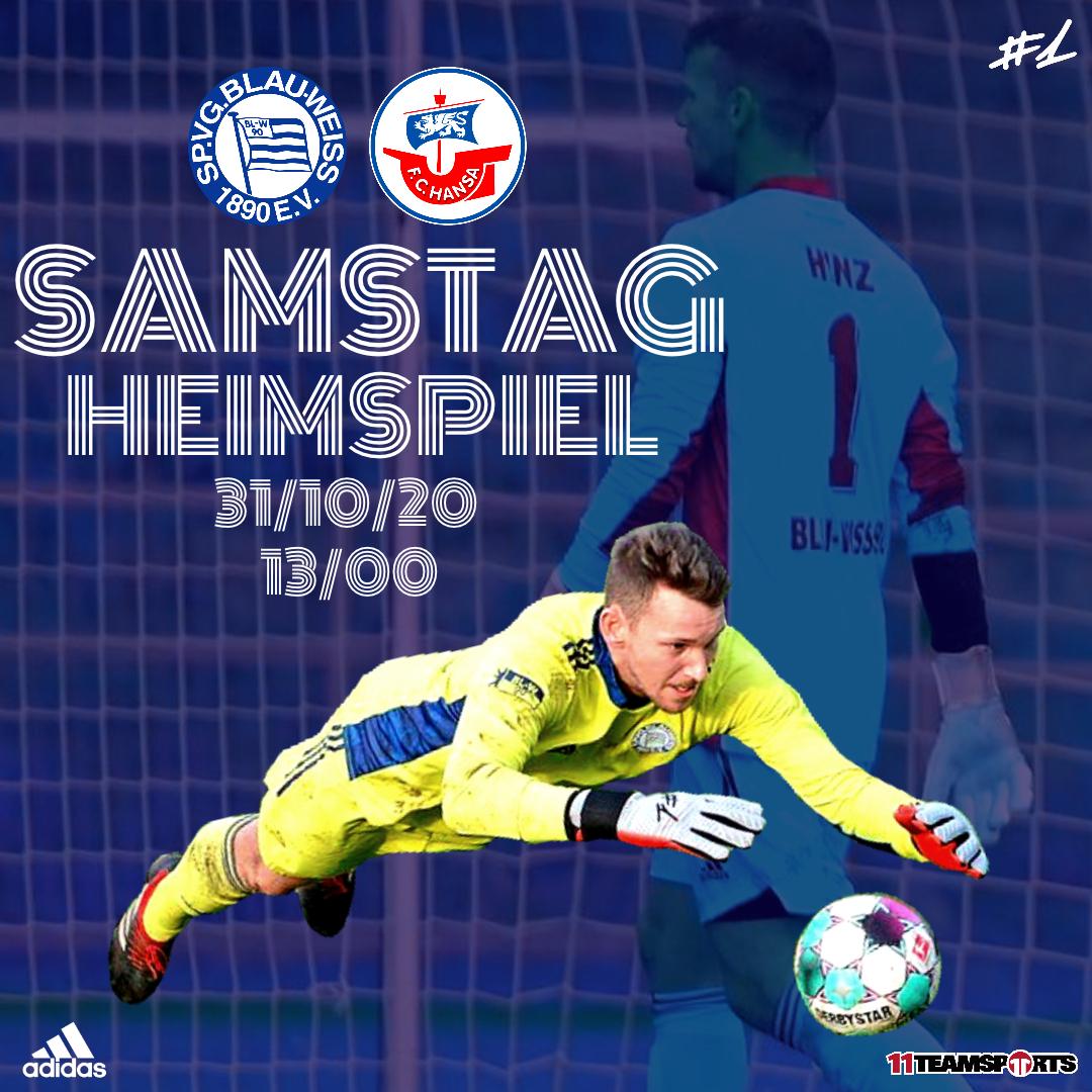 Heimspiel gegen den FC Hansa Rostock II