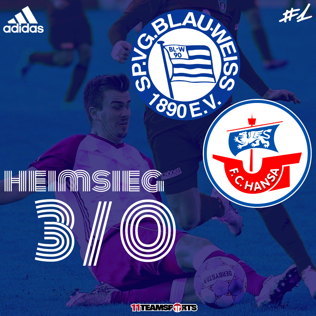 Heimsieg gegen den FC Hansa Rostock