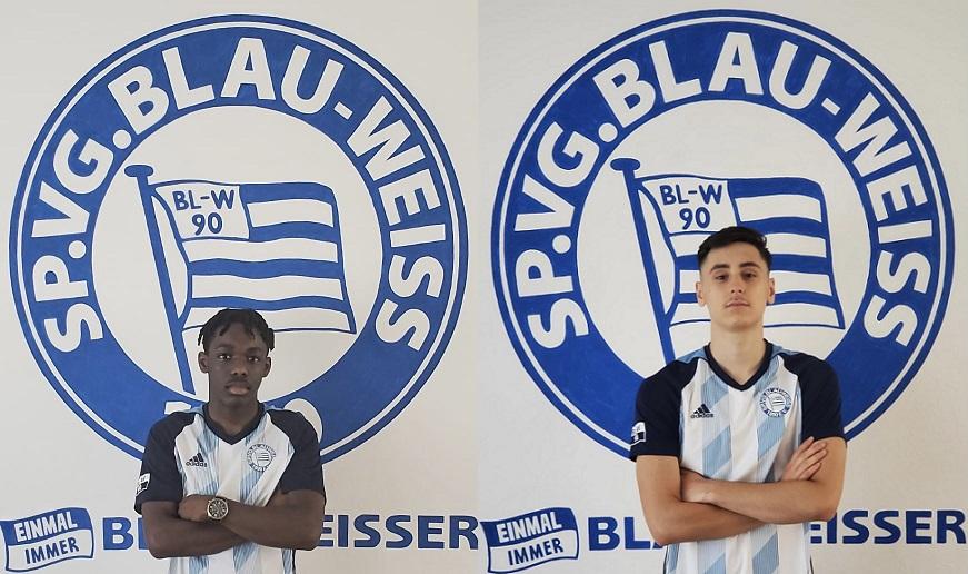 Blau Weiss setzt weiterhin auf die Jugend !!!